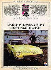 1970 FORD MUSTANG BOSS 302 A3 POSTER AD ADVERT ADVERTISEMENT SALES BROCHURE MINT