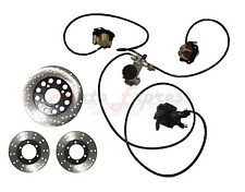 Go kart Brake Master Cylinder Kit with Calipers and Hoses KD150BRKIT Comet Parts