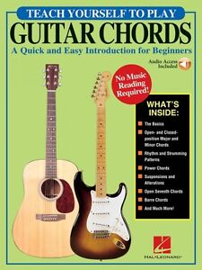 100% De Qualité Teach Yourself To Play Guitar Chords-simple Et Rapide Introduction F 000144128-afficher Le Titre D'origine Sans Retour
