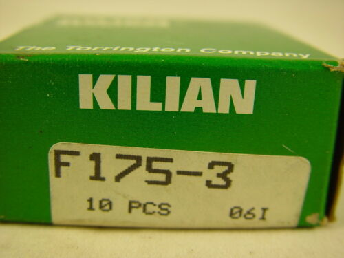 "Kilian F175-3  F-175-3 3//8/"" Bore Wide Flanged Bearing ~~~ LOT OF 10 ~~~"