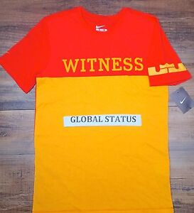 0a405853b0bb Image is loading NIKE-LEBRON-CROWN-WITNESS-TEAM-RED-ORANGE-BASKETBALL-