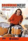 Drumming Made Easy 0073999618938 With Harvey Sorgen DVD Region 1