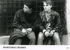 LEONARDO DI CAPRIO BASKETBALL DIARIES  1995 4  PHOTOS VINTAGE ORIGINAL LOT