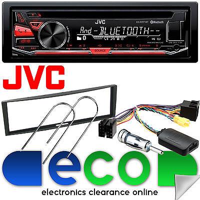Renault Clio MK3 2005-2009 JVC Bluetooth CD MP3 Car Stereo /& Steering Wheel Kit
