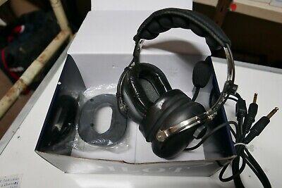 Lightweight Aviation headset Behind ear Single Sided Passive Pilot PA 22-GA