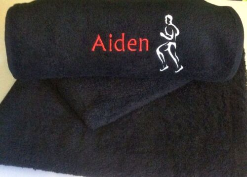 Embroidered Hand /& Bath Towels Design Your Own Towel Personalised Towels