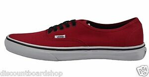 Image is loading Vans-AUTHENTIC-Chili-Pepper-Black-VN-ONJV2KA-384- 03f08a1a4