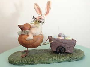 Honey-and-Me-Special-Delivery-bunny-pulling-Easter-eggs-in-wagon-S11412