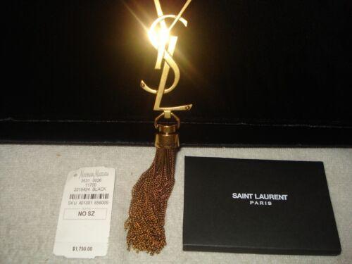 embrague nuevas bolso 885124637215 Suede auténticas 100 Yves de Saint Kate Laurent terciopelo mujeres negro wFg5q7