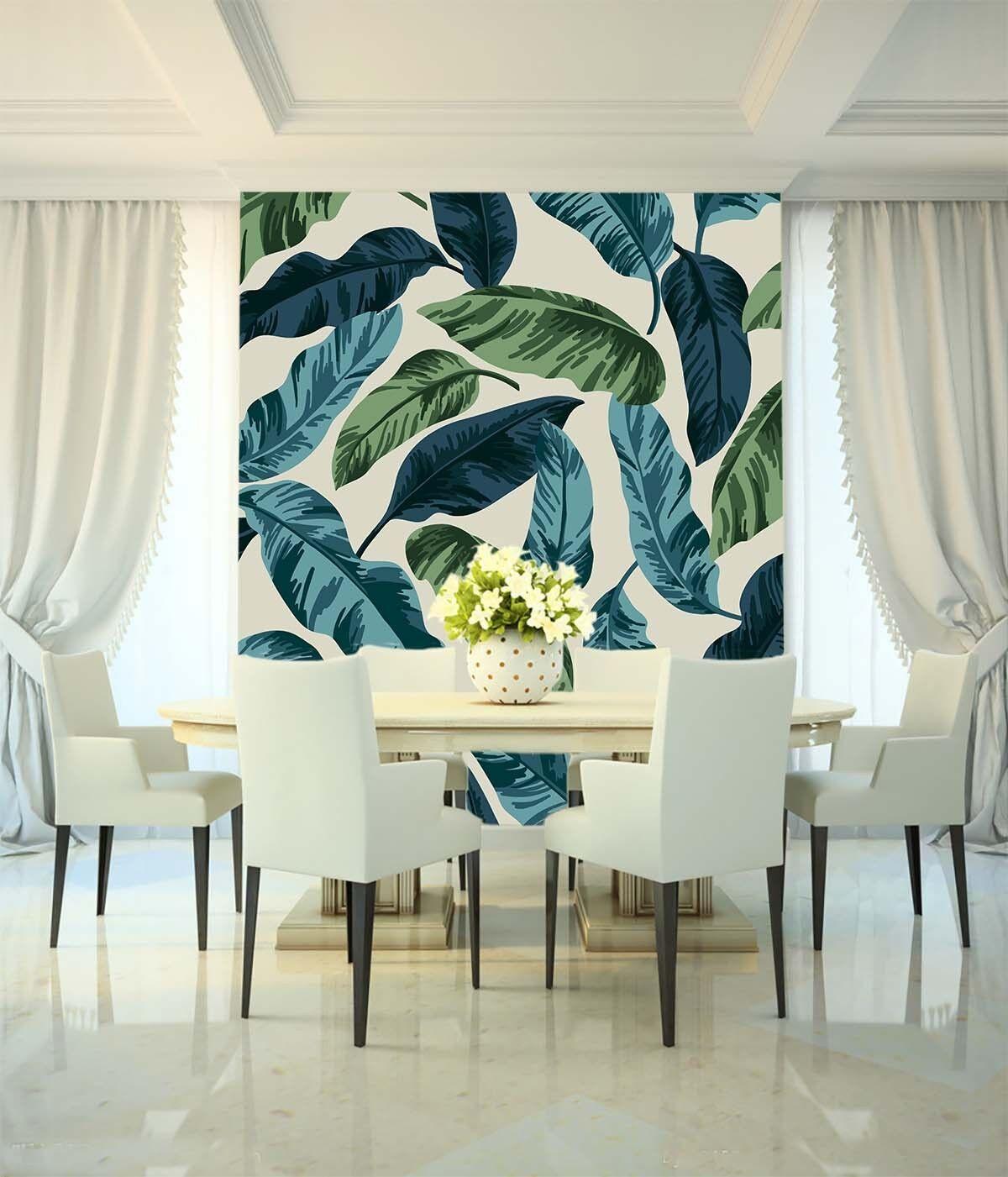 Fashion Foliage Patterns6324 Wall Paper Wall Print Decal Wall Deco Indoor Wall