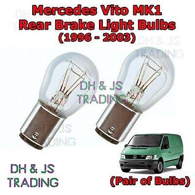 Mercedes Vito W639 White LED /'Trade/' Wide Angle Side Light Beam Bulbs Pair