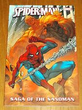 Spiderman Saga of the Sandman Jack Kirby Steve Ditko Marvel 9780785124979