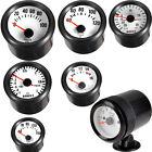 "Black 2"" 52mm Boost Vacuum Water Oil Temp Press Volt Tacho Gauge Pointer W8"