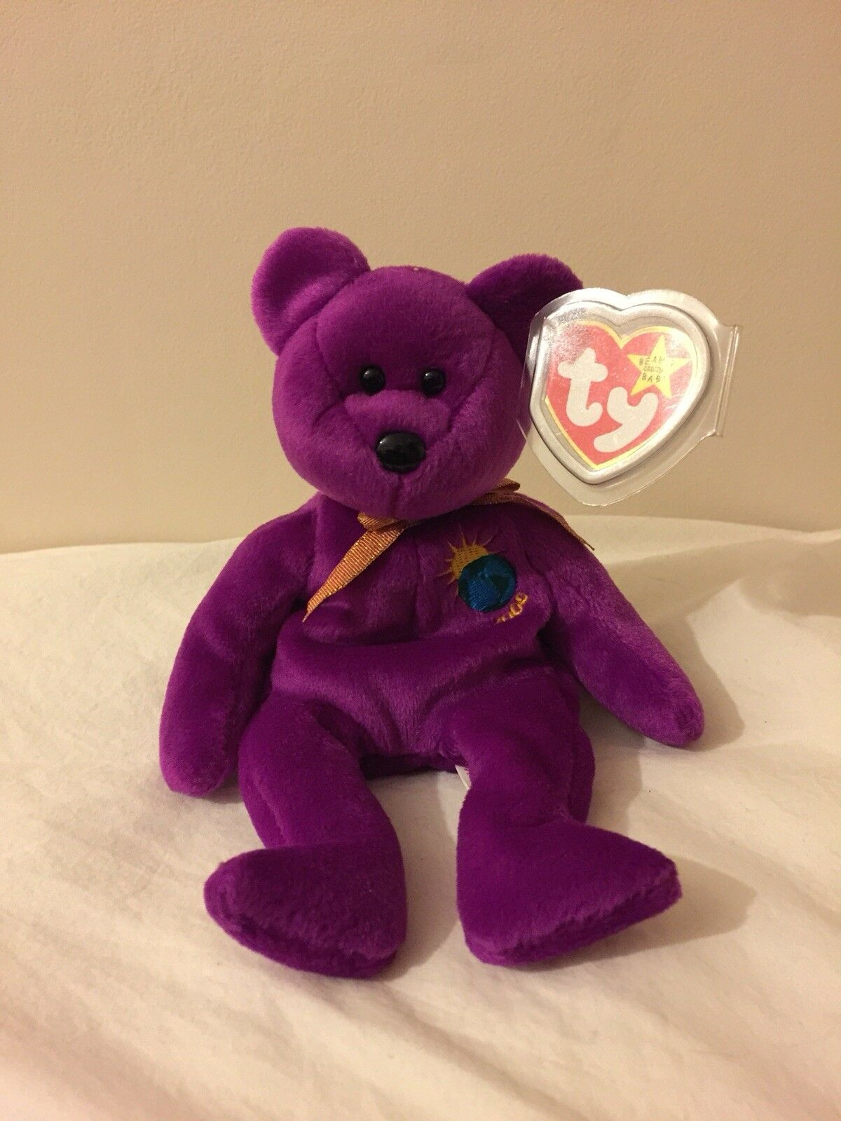 Ty Beanie Babies- Limited Edition Millenium bear