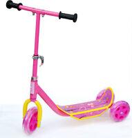 Kinder Tri- Scooter PINK Dreirad Kinderroller Tretroller Roller Cityroller PVS