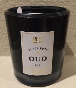 dw home black rose oud 1 richly scented candles oz 2 wick jar. Black Bedroom Furniture Sets. Home Design Ideas