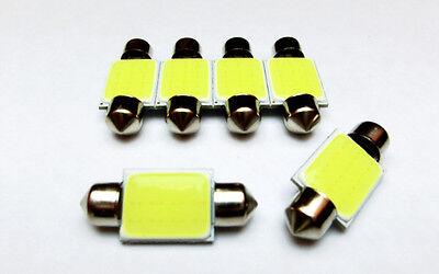 1x Led Soffitte Festoon Dome 12v Cob Led Lampe Weiß - 31mm - 36mm - 39mm - 42mm HöChste Bequemlichkeit