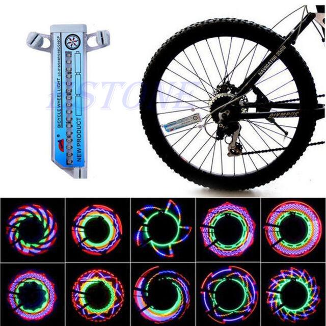 NEW! 16 LED Flash Tire Wheel Valve Spoke Light for Bike Bicycle Car Motorcycle