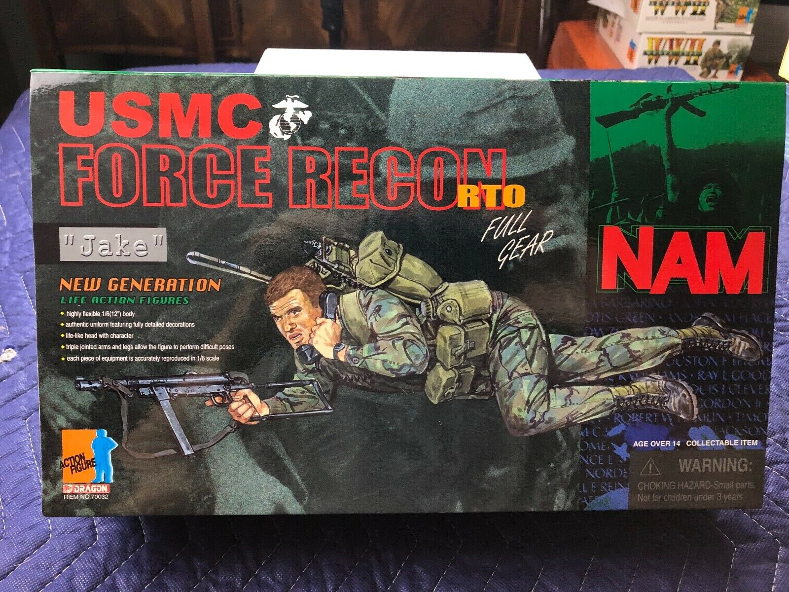Dragon Viet Nam USMC Force Recon Radio-Telephone Operator  Jake
