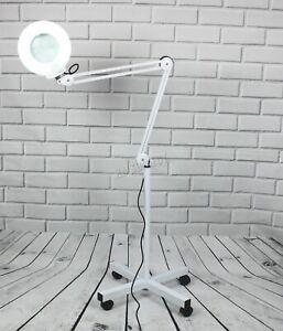 FoxHunter-Standing-Magnifier-Lamp-Eyelash-Lamp-Salon-Surgery-Beauty-White