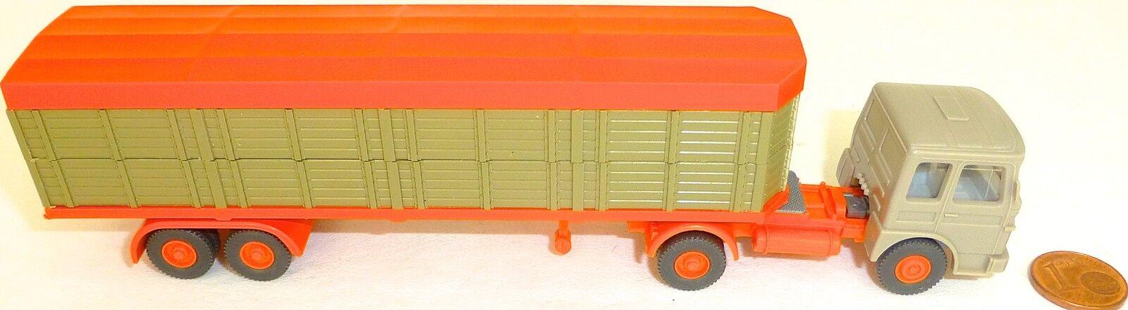 servicio de primera clase Transportador de Animales Cerrado Beige verde Deutrans Naranja Naranja Naranja Semirremolque  tienda de venta