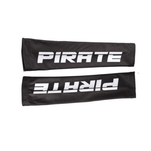 Totenkopf Pirates Skull Pirat Pirate Armlinge Schwarz