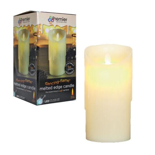 Premier noël batterie minuterie led dancing flame fondu candle-crème