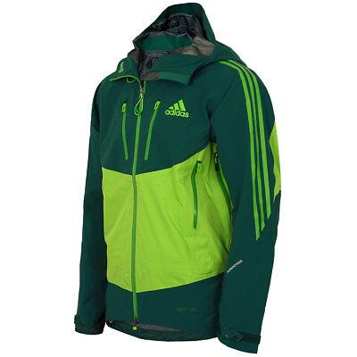 adidas Herren Terrex Icefeather Jacke Gore Tex Pro Outdoor Jacket grün NEU | eBay