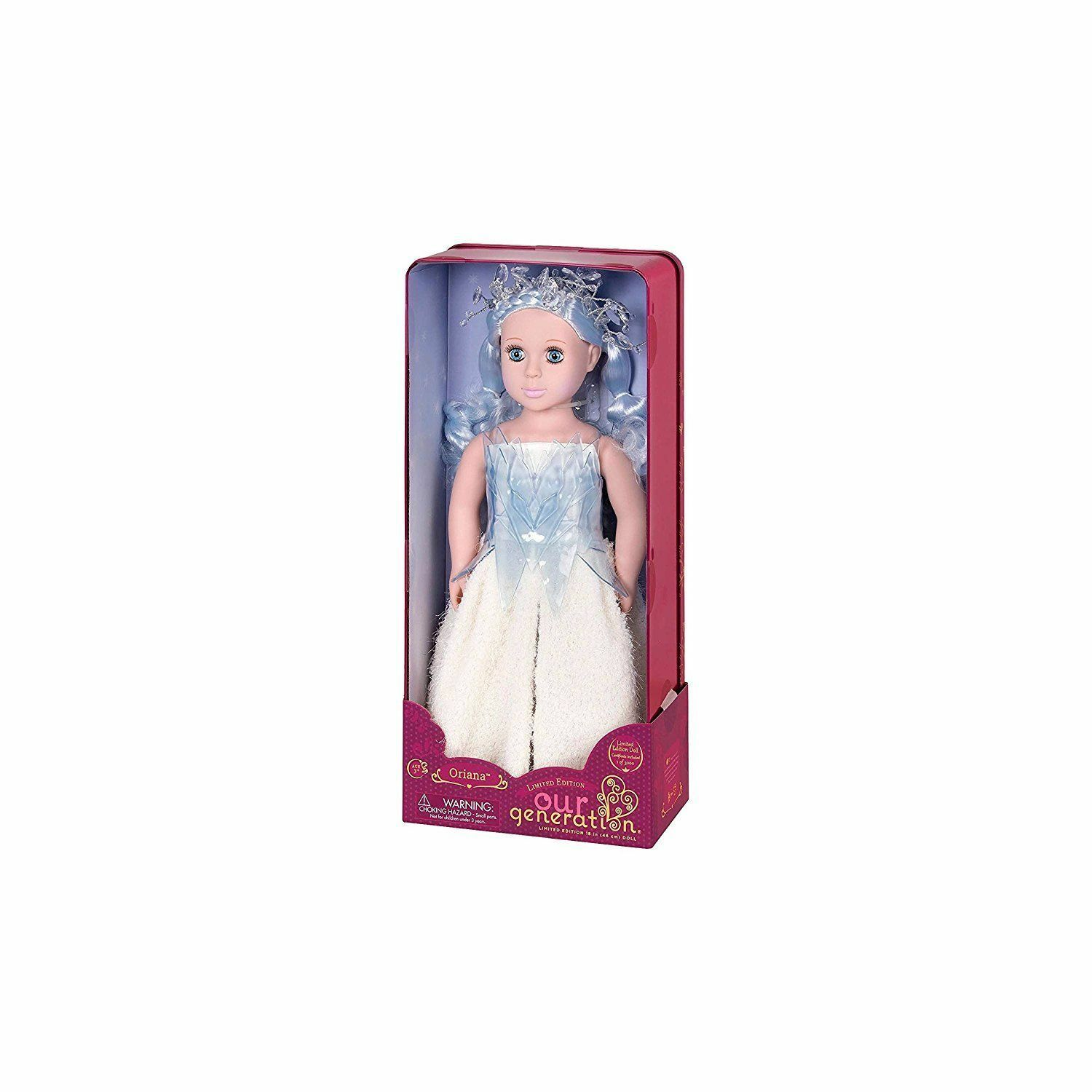 Our Generation  Limited Edition Doll Oriana
