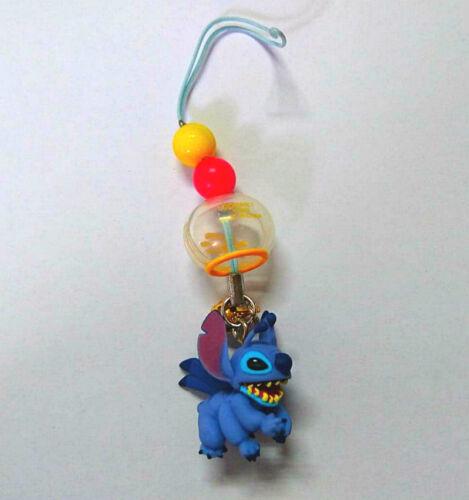 A40 YUJIN Disney Toy Capsule Character Stitch Series スティッチ!ちりりんストラップ#Stitch E