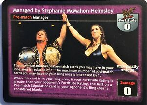 WWE-Raw-Deal-CCG-Summer-Slam-6-0-Managed-by-Stephanie-McMahon-Helmsley-60-150