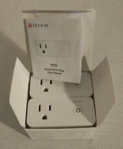 Details about Teckin Smart Wi-Fi Plug SP25 with USB Port(2 Pack), Wireless  Mini Smart Socket