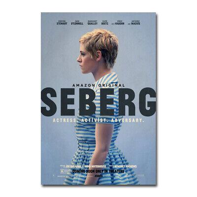 Seberg Movie Jean Seberg Kristen Stewart Art Silk Canvas Poster Print 24x36 inch
