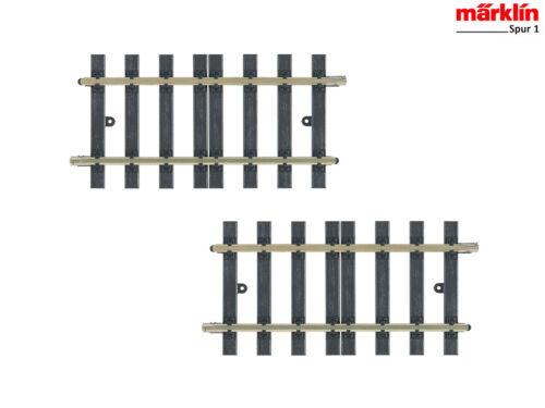 2 Stück Märklin 59056 Gleis gerade 152,2 mm H1103