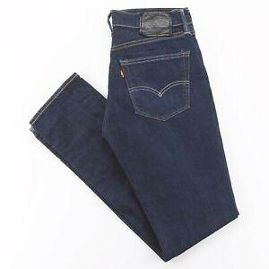 LEVI'S 511 bleu Denim Slim Straight Jeans Homme W31 L34