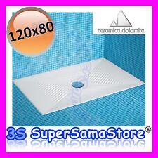 Ceramica Dolomite Piatto Doccia Onda.Piatto Doccia Onda Ad Angolo 80x80 J499001 Dolomite