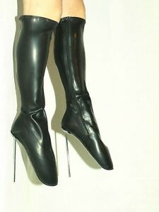 latex ballet stiefel