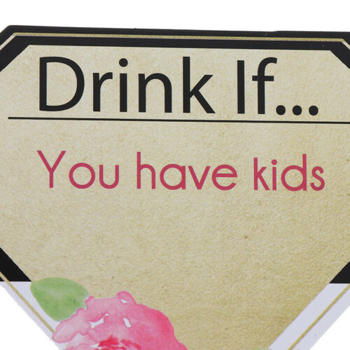 Hen Party Girls Night Out Game Cards Bachelorette Party Drinking Dare Cards DU