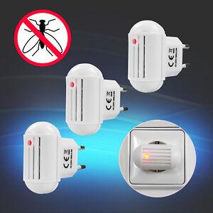 3x Insektenvertreiber Muckenschutz Elektrisch Ultraschall