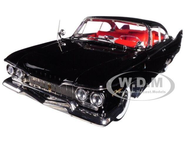 ganancia cero 1960 Plymouth Fury Hard Top Negro Diecast Diecast Diecast Modelo 1 18 Platino por SUNEstrella 5423  comprar ahora
