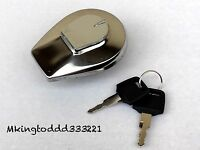 Gas Tank Cap Lock Set For Honda Nighthawk Valkyrie V65 Magna Shadow Aero Ascot