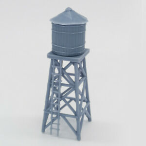 Outland Models Railway Old West Accessory Small Water Tower 1:87 HO Gauge Scale