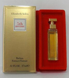 3e4fe9dbd ELIZABETH ARDEN 5th Avenue Parfum Extract / Extrait 0.12 oz. 3.7mL ...