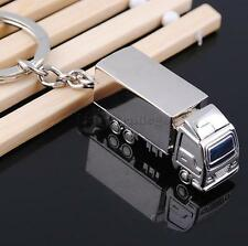 Mini Lorry Truck Charm Pendant Keyring Keychain Key Ring Chain Collectibles