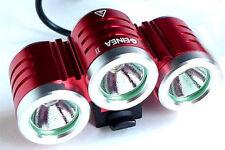 Xeccon GeineaII 2500 Lumen mtb LED Bike Light 5.2Ah SAMSUNG Battery Metal Mount