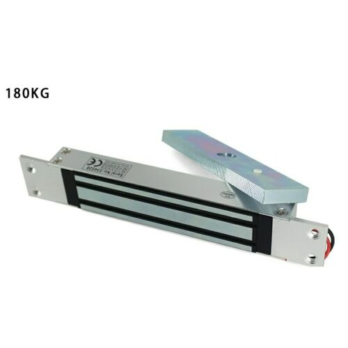 NSEE 180KG//350LBS Concealed Electric Magnetic Gate Door Lock Built-in Mounting