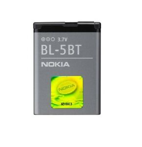 98a53515541 Battery Original Nokia BL-5BT for Nokia 2600c, 7510 Supernova bulk ...