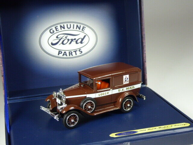 (KI-01-20) Motorheads Ford Model A Delivery 1931 US Mail in 1 43 in OVP