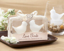 75  Love Birds White Bird Tea Light Candles wedding favors bridal shower favor
