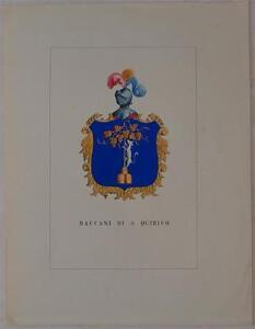 BACCANI-SAN-QUIRICO-D-039-ORCIA-SIENA-TOSCANA-STORIA-DELLE-FAMIGLIE-ILLUSTRI-1872
